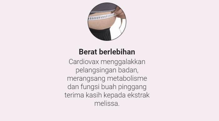 Cardiovax Singapore, harga produk, pendapat, apa kegunaan..